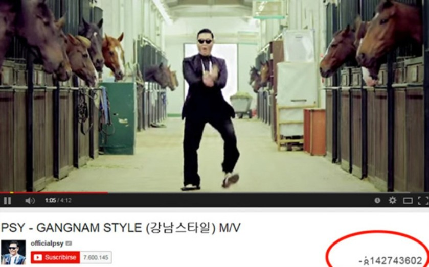 Gangnam Style_Record Youtube