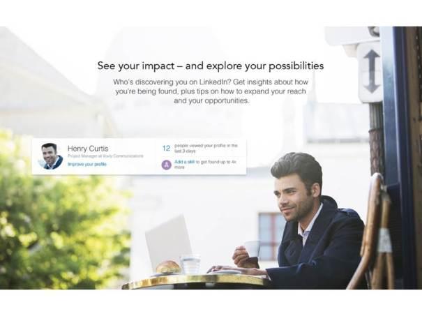 LinkedIn's New Homepage Design